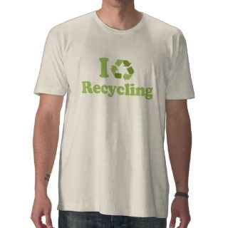 Love recycling T shirt / Earth Day T shirt