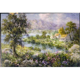 Nicky Boehme Enchanted Cottage 3000 Piece Puzzle Toys