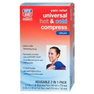 Rite Aid Reusable Compress, Hot & Cold, Large Universal, 1