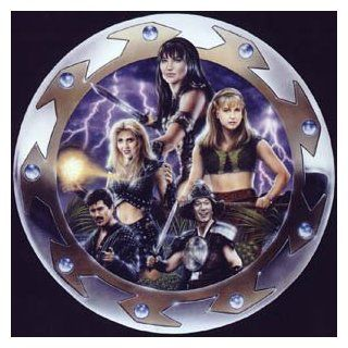 Xena Warrior Princess Beautiful Lithograph with Lucy