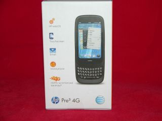 HP/Palm Pre3  16GB   Black (AT&T) Smartphone Brand New Sealed Box