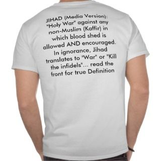 JIHAD: A holy war meant to be fought WITHIN oT Shirt