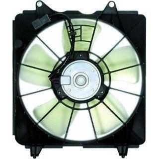 QP H714K b Honda Civic Coupe Replacement Radiator Cooling Fan/Shroud
