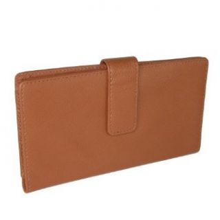 Rolfs Essential Genuine Leather Checkbook Cover and Credit