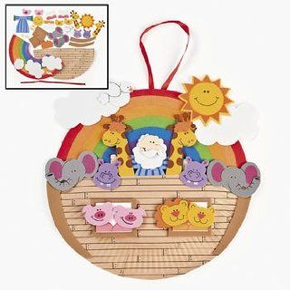 Paper Plate Noahs Ark Craft Kit   Religious Crafts