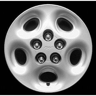 97 98 FORD MUSTANG WHEEL COVER HUBCAP HUB CAP 15 INCH, 5 OVALS BRIGHT