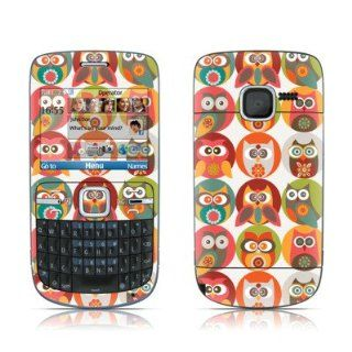 Owls Family Design Protective Skin Decal Sticker for Nokia
