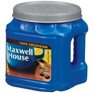 Maxwell House Coffee 100% Colombian Ground Medium Dark   6 Pack