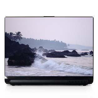 Laptop Computer Skin Dell PC HP Beach Surf Rocks 353