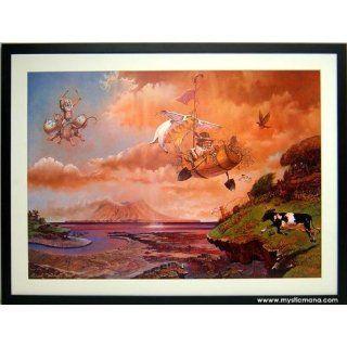 The Elven Drummer Fantasy Art Patrick Woodruffe Fine Art