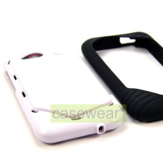 Double Layer Hard Case Cover for HTC Droid Incredible 4G LTE