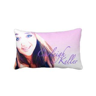 Carleighs Krewe Print American MoJo Lumbar Pillow