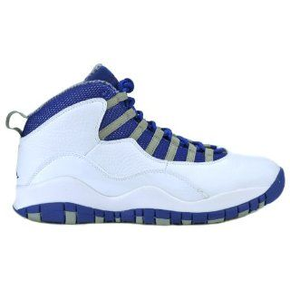 Basketball Shoes White/Old Royal/Stealth 487214 107 (8.5 M) Shoes