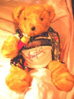 Huey Lewis News Huey Lewis Teddy Bear Singer Musician Autographed T