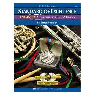Standard of Excellence Enhanced Band Method Book 2   Bass