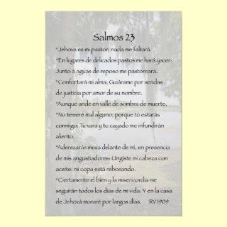 Versos de la Biblia con Fotos Carteles con Versos de la Biblia
