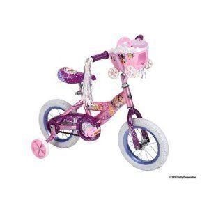 Huffy 12 Girls Disney Princess Bike Bicycle Cycle Kids Training Wheels