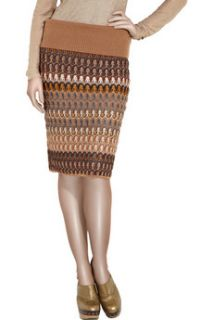 Missoni Renata crochet knit pencil skirt   60% Off