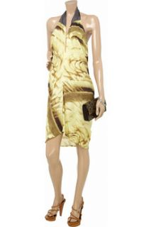 Zero+MariaCornejo Gigi printed stretch silk dress   84% Off