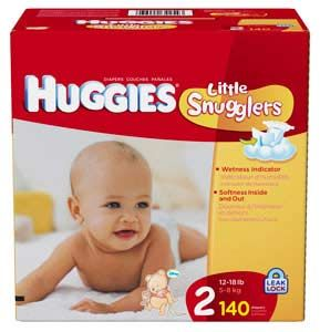 Huggies Little Snugglers Diapers Size 2 144 Ct