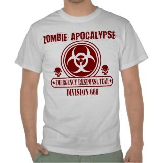 Zombie Outbreak Response Team T shirts, Shirts and Custom Zombie