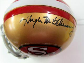 Hugh McElhenny Autographed San Francisco 49ers Riddell Mini Helmet