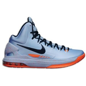 Nike KD V   Mens   Basketball   Shoes   Ice Blue/Squadron Blue/Total