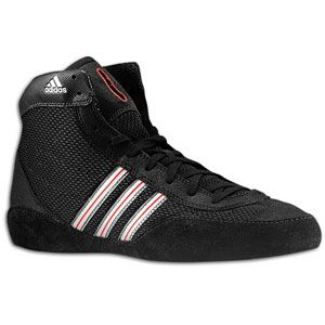 adidas Combat Speed III   Mens   Wrestling   Shoes   Black/Grey/Red