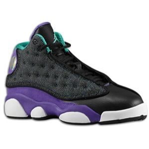 Jordan Retro 13   Girls Preschool   Basketball   Shoes   Black/Atomic