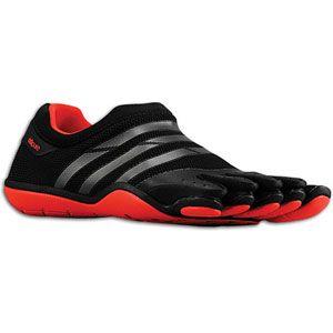 adidas adiPure Barefoot Trainer Mesh   Mens   Black/Neo Iron Metallic
