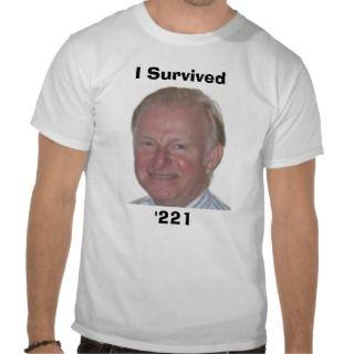 Arden, I Survived, 221 Shirts