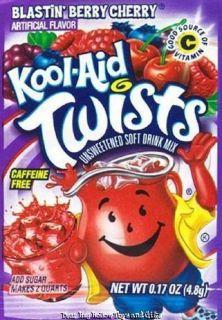 Kool Aid Drink Mix Blastin Berry Cherry 10 Count