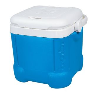 Igloo Ice Cube Cooler 14 Can Capacity Ocean Blue Ice Box Chest Camping