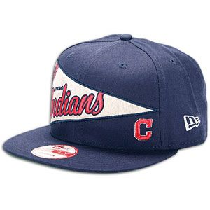 New Era MLB Pennant Snapback   Mens   Baseball   Fan Gear   Indians