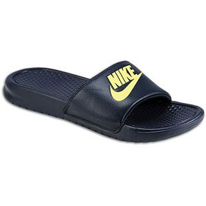 Nike Benassi JDI Slide   Mens   Casual   Shoes   Dark Obsidian