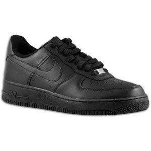 Nike Air Force 1 Low   Mens   Basketball   Shoes   Black/Black