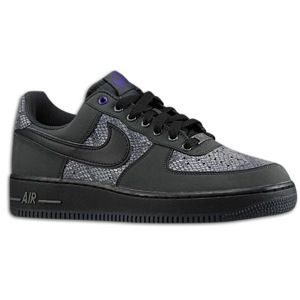 Nike Air Force 1 Low   Mens   Basketball   Shoes   Anthracite/Black