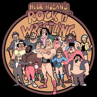 80s Classic Hulk Hogans Rock N Wrestling Custom Tee
