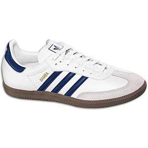 adidas Originals Samba   Mens   Soccer   Shoes   White/New Navy/Gum