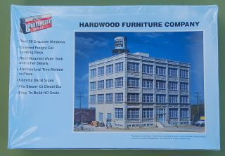Walthers CornerStone Hardwood Furniture HO Scale Kit