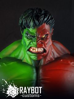 Marvel Legends Select Compound Hulk Figure by Raybot Customs Composite