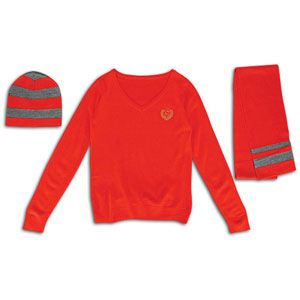 Southpole 3 Fer Stripe Sweater   Womens   Casual   Clothing   Red