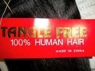 Human Hair Weave 8 Inch