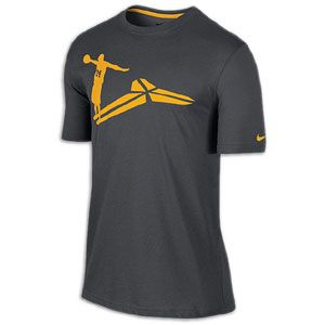 Nike Kobe Shadows T Shirt   Mens   Basketball   Clothing   Anthracite
