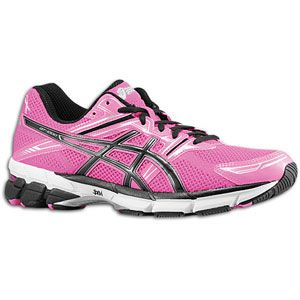 ASICS® GT 1000   Mens   Running   Shoes   Pink/Black/White