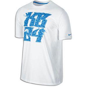 Nike Kobe KB24 T Shirt   Mens   Basketball   Clothing   White/Light