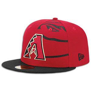New Era MLB 59fifty Trimill Cap   Mens   Arizona Diamondbacks