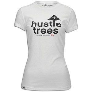 LRG Hustle Trees Jersey Cap Silver T Shirt   Womens   Skate