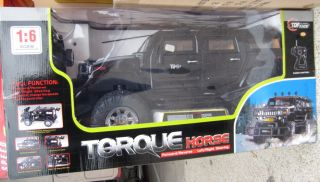 New Black Hummer Truck Remote Radio Control Huge 1 6 Scale RC 3 Speed