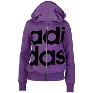 adidas Originals College Hooded Track Jacket   Womens   Lab Purple